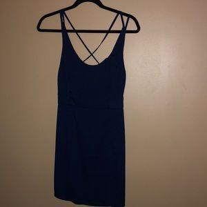 Woman's Strappy Mini Dress